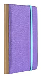 M-EDGE Trip Jacket Case for Kindle 4/Kindle Touch/Kobo Touch - Purple/Teal