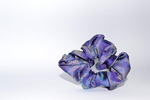 Elastic Haargummi//MAZU//schillernden Blau