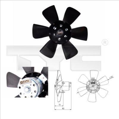 Ventilateur, refroidissement du moteur 80 (06/1986 - 10/1991)