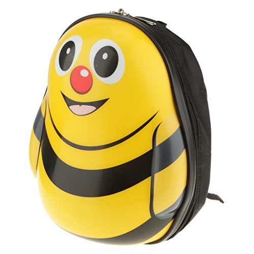 MagiDeal Niedlichen Cartoon Kleinkind Rucksack Umhängetasche Kinder Spielzeug - Bee, 26x32x17cm (Bee-kleinkind-spielzeug)