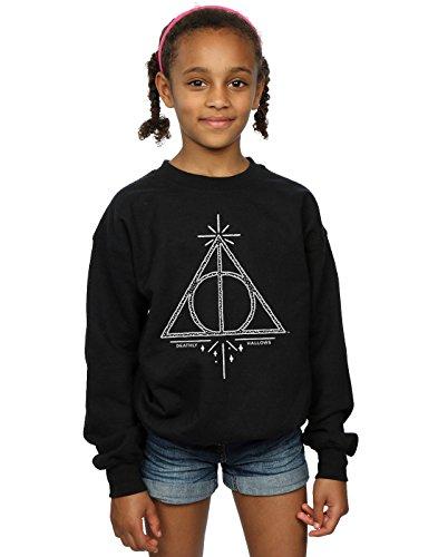 Harry Potter niñas Deathly Hallows Symbol Camisa