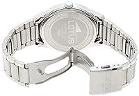 Lotus 15954/2 - Reloj de cuarzo para hombre, con correa de acero inoxidable, color plateado de Lotus