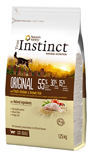 Instinct True pienso para Gatos Original Pollo
