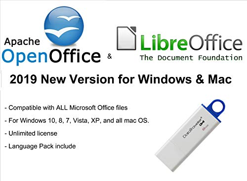 Apache OpenOffice und LibreOffice 2019. Privatanwender für Microsoft Windows und Mac OS X - ON USB