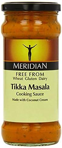 Meridian Free From Tikka Masala Free From Tikka Masala Cooking Sauce 350 g (Pack of 6)