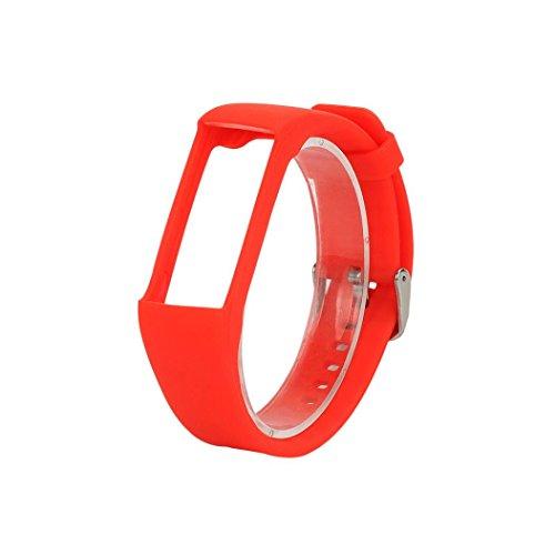 Cinturino di ricambio, ihee Fashion-Braccialetto di gomma di silicone cinturino da polso cinghia per Polar (Cinghia Della Gomma Di Silicone)