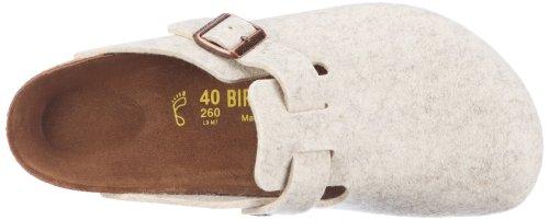 Birkenstock Boston Unisex - Erwachsene Clogs & Pantoletten Braun (Natur)