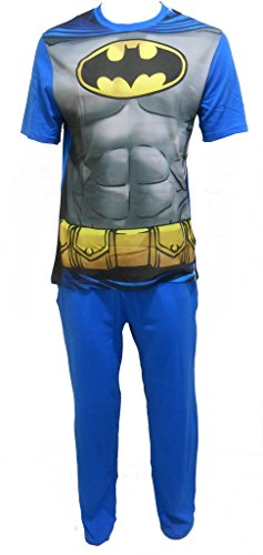 Batman Uomo pigiama Set DiUomoione: XL