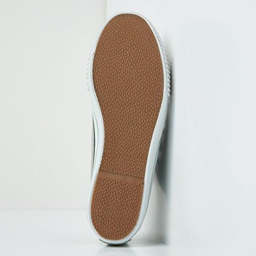 British Knights Master Platform Donne Bassa Sneakers VECCHIO VERDE