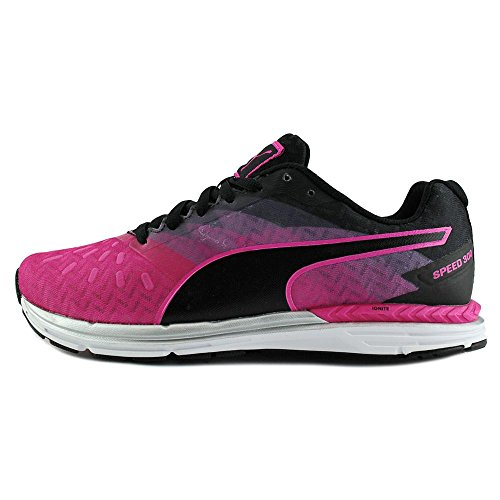 Puma Speed 300 Ignite Synthétique Baskets Pink Glo-Black