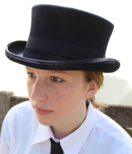 Thorness 100% Wool Dressage Style Top Hat - M Approx 58 / 59cm