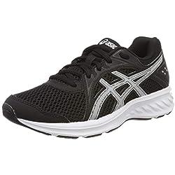 ASICS Jolt 2 GS, Chaussures de Running Compétition garçon, Multicolore (Black/White 002), 39 EU