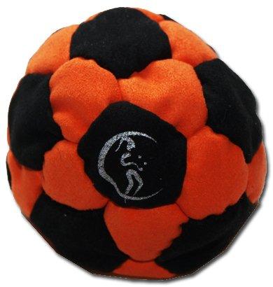 pro-hacky-sack-32-paneelen-schwarz-orange-profi-freestyle-footbag-hacky-sack-fur-anfanger-und-profis