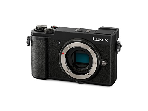 Panasonic LUMIX DC-GX9EG-K Fotocamera Mirrorless 20 MP, Sensore LIVE MOS MFT, Nero