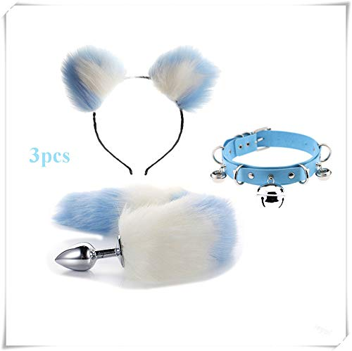 Headwear Anime Japanese Cosplay Cat Ears Cartoon Halloween Masquerade Cute Cartoon Cost Fox Leopard Tiger Monkey Ears And Bell Novelty & Special Use