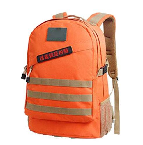 Multifunktionale Wasserdichte Oxford Cloth Camouflage Outdoor Bergsteigen Tasche,DesertDigital40L Orange40L