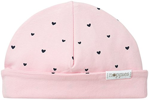 Noppies Baby-Mädchen Mütze G Hat Rev New York-67365, Rosa (Light Rose C092), neugeboren (Herstellergröße: 0M-3M)