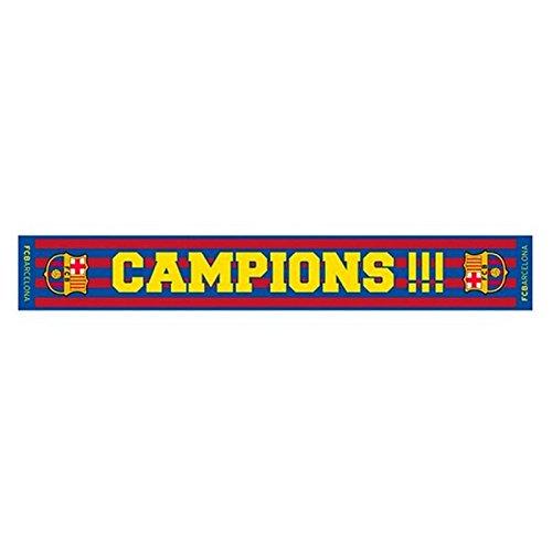 BUFANDA CAMPIONS FC BARCELONA