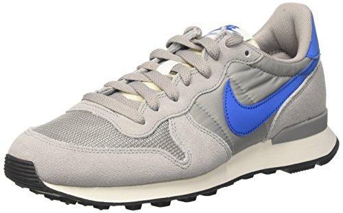 Nike Herren Internationalist Laufschuhe, Grau (Matte Silver/Blue Spark/Sail/Black 004), 39.5 EU (2014 Air Max Mann)
