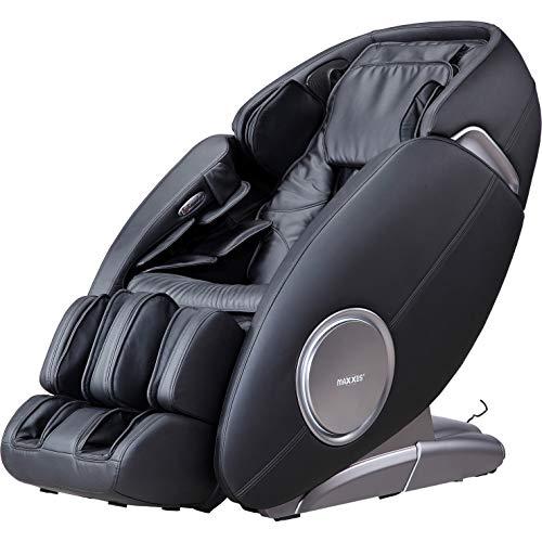 Maxxus Massagesessel MX 12.0z Ganzkörper Massagefunktion   Nacken- und Rückenmassage   Hüfte und Po Massage   Schultermassage   Knet- und Klopfmassage (Schwarz)