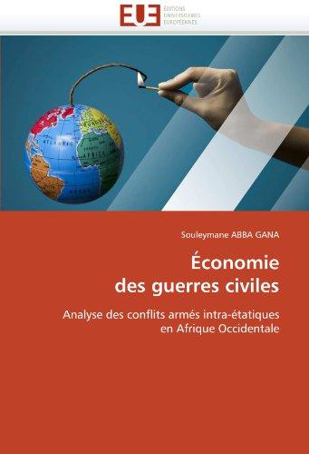 Économie des guerres civiles par Souleymane ABBA GANA