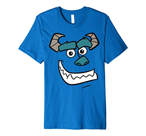 Disney Monsters Inc. Sulley Face Graphic T-Shirt