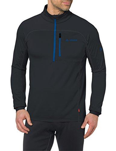 Vaude Herren Boe Halfzip Pullover black/Blue