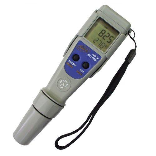 Adwa ORP/Redux/pH- und Temperatur-Messgerät, wasserfest (AS14)