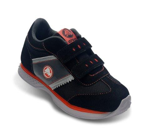 Crocs - - Kids Unisex Retro Sprint Sneaker Kids Schuhe, EUR: 22-23, Black/Black