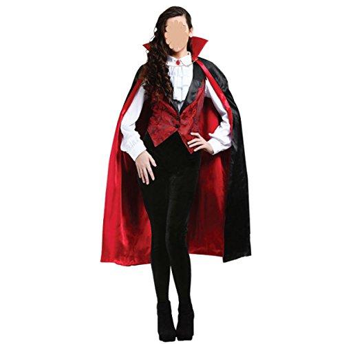 ce Kostüme Vampir Teufel Kostüm-Rollenspiel,Onscolor-160-170cm (Gemütliche Teufel Kostüme)