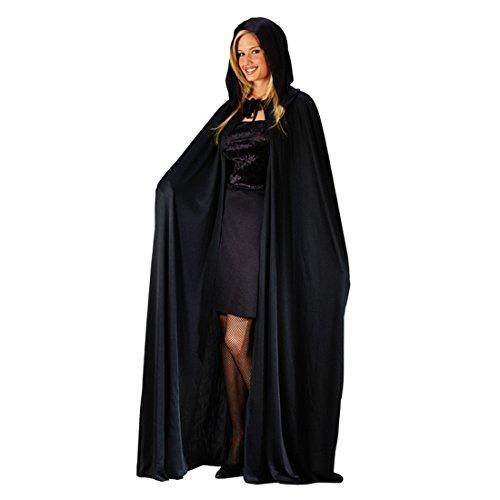 ge Umhang Mit Kapuze Karneval Erwachsenen Kostüm Cape Umhang für Männliche und Weibliche Cosplay Gevatter Tod, Vampir, Krieger Halloween (Tod Krieger Kostüm)