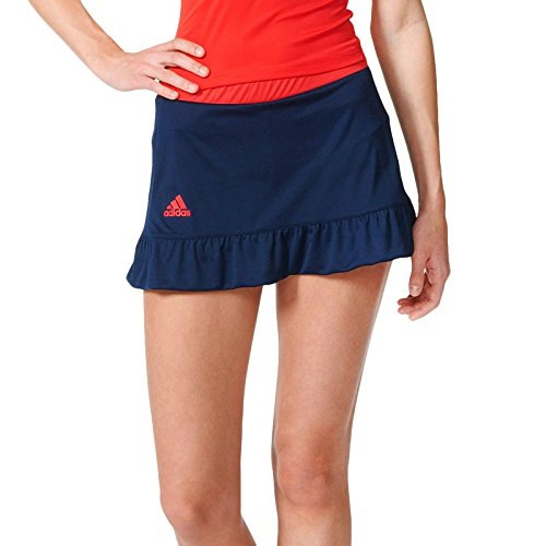 adidas Court Skort - pantalón para mujer, color azul / rojo, talla S