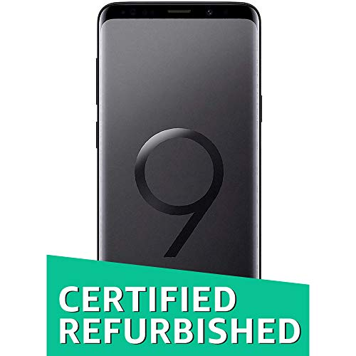 (CERTIFIED REFURBISHED) Samsung Galaxy S9 Plus (Midnight Black, 6GB RAM, 64GB Storage) with Offer