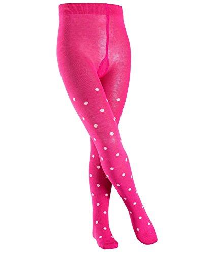 FALKE Mädchen Strumpfhose Dot, Mehrfarbig (Pink 8553), 122 (Herstellergröße: 122-128)