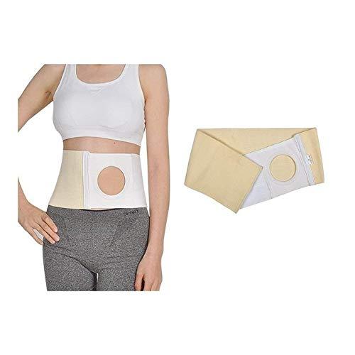 Kolostomie Gürtel, Stoma-Hernie Gürtel Unisex Stoma Unterstützung Stoma Binder Hüftgürtel Anzug for Kolostomie Patienten Parastomalhernie zu verhindern (Size : XL) -