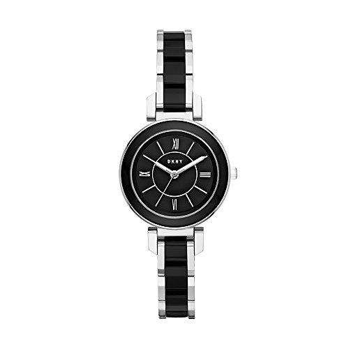 DKNY Reloj Analogico para Mujer de Cuarzo con Correa en Acero Inoxidable NY2590