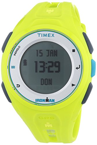 Timex Ironman Run x20 GPS Sports Watch – TW5 K8 7500 (Timex Grünen Band)