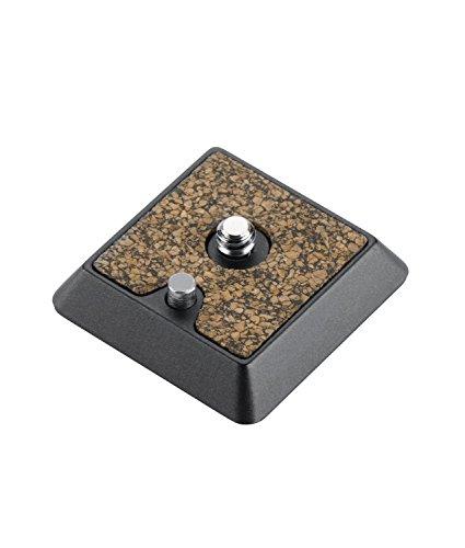 Cullmann Revomax RX472 40472 Aluminium Schnellkupplungplatte (Breite 4,2 cm, Höhe 1,4 cm, Tiefe 4,2 cm, Gewicht 35 g,