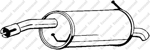 Silencieux arrière 154-483