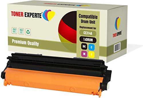 TONER EXPERTE Compatible CE314A 126A Tambor para HP Colour Laserjet CP1025 CP1025nw CP1020 M175a M175nw Pro 100 M175 MFP M175a M175nw M176n M177fw M275 TopShot M275 M275a M275nw