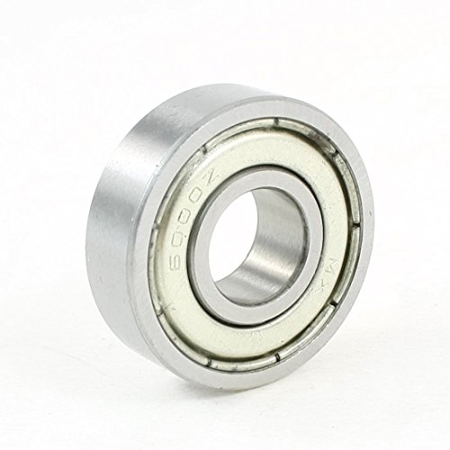 TOOGOO 6000Z 10mm x 26mm x 8mm Gorge profonde etanche radiale roulements a billes 10 Pcs R