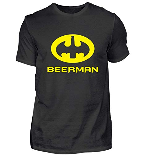 (Generic Funky Fresh Shirts I Bat Man Beer Fan T-Shirt I Beerman - Herren Shirt)