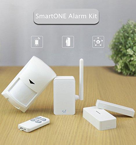 Yongse Sensor PIR BroadLink S1C kit de alarma SmartOne Puerta de movimiento sistema de casa inteligente de control remoto