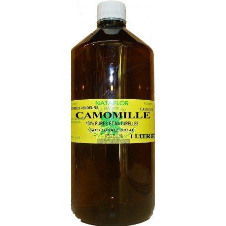 Eau florale de camomille 1 litre BIO.