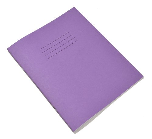 RHINO F8M 200x165 48 Page Exercise Book - Purple (Pack of 10)