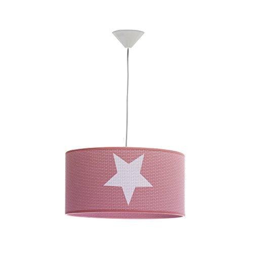 Jeanne Stella Kinder Deckenleuchte, E27, 20W, Pink vorgepudert, 40x 95cm