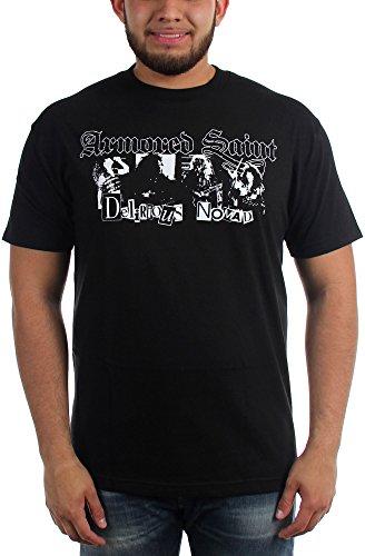 Armored Saint-Delirious Nomad-Maglietta da uomo Nero  nero