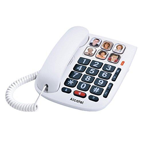 Alcatel TMAX 10 - Teléfono Teclas Grandes con 6 memorias directas