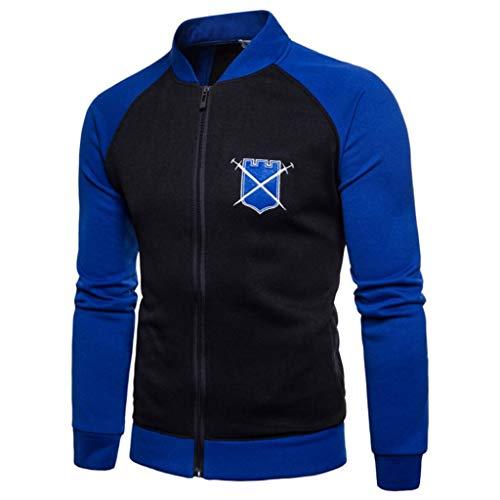 ❤️Manteau Veste Homme Amlaiworld Hommes Pull à Grande Taille Sweat à Capuche à Manches Longues Tops Blouse Automne et Hiver Jacket Pullover