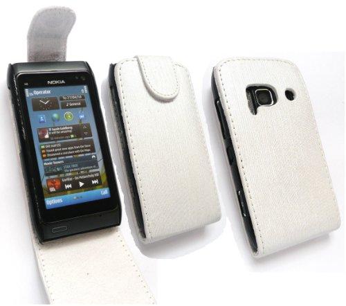 Emartbuy Nokia N8 Shimmer Fine Di Caso Di Vibrazione/Copertura/Sacchetto Bianco